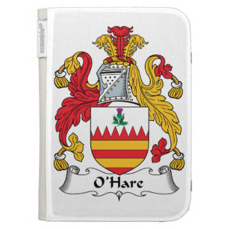 O'Hare Family Crest Kindle 3 Cases