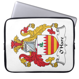 O'Hare Family Crest Laptop Computer Sleeve