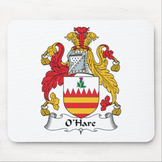 O'Hare Family Crest Mouse Pad