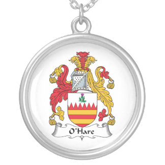 O'Hare Family Crest Necklaces
