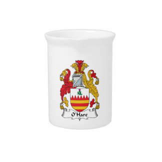 O'Hare Family Crest Pitcher