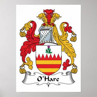 O'Hare Family Crest Print