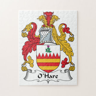 O'Hare Family Crest Puzzle