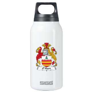 O'Hare Family Crest 10 Oz Insulated SIGG Thermos Water Bottle