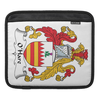 O'Hare Family Crest Sleeve For iPads
