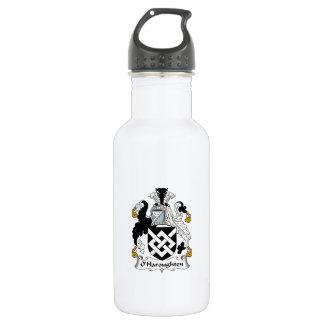 O'Haroughten Family Crest Water Bottle