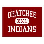 Ohatchee - Indians - High - Ohatchee Alabama Postcard