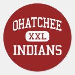 Ohatchee - Indians - High - Ohatchee Alabama Sticker