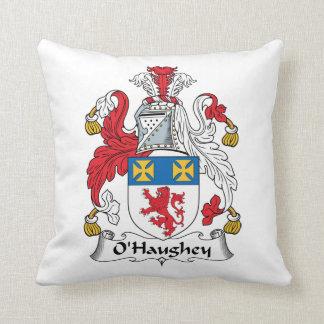 O'Haughey Family Crest Pillow