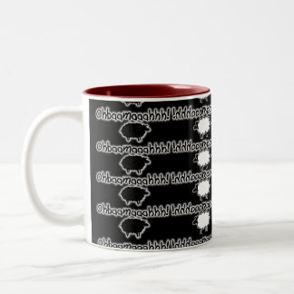"""""""OHBAAMAAAHHH!"""" Sheep, Alex Jones Two-Tone Coffee Mug"""