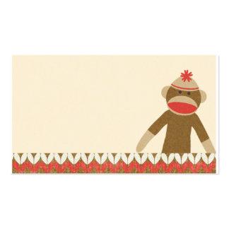 OhBabyBaby CUTE CARTOON MONKEY STORY SCRAPBOOKING Business Card