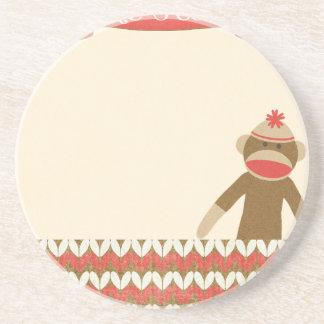 OhBabyBaby CUTE CARTOON MONKEY STORY SCRAPBOOKING Coasters