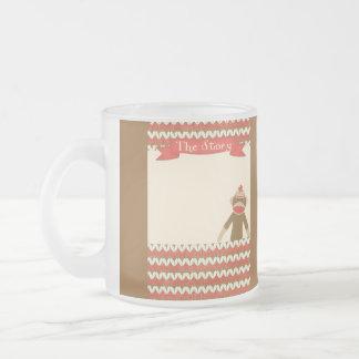 OhBabyBaby CUTE CARTOON MONKEY STORY SCRAPBOOKING Mugs