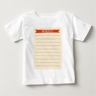 OhBabyBaby_memories-journal-card SCRAP BOOKING MEM Shirt