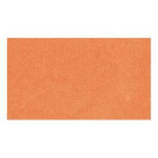 OhBabyBaby_solidpaper_orange ORANGE BACKGROUND WAL Business Card