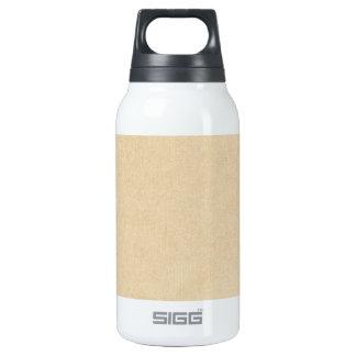 OhBabyBaby_solidpaper_tan NEUTRAL TAN BACKGROUND W Thermos Water Bottle