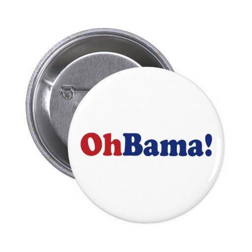 Ohbama! 2 Inch Round Button