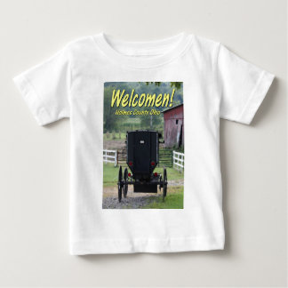OHCA101.Amish Buggie - Holmes Co OH. Baby T-Shirt