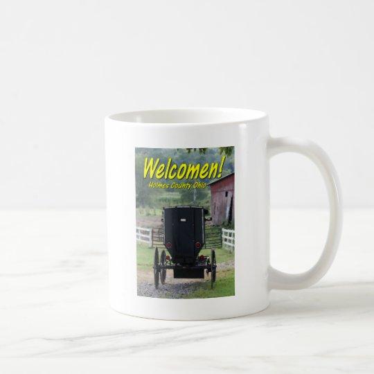 OHCA101.Amish Buggie - Holmes Co OH. Coffee Mug