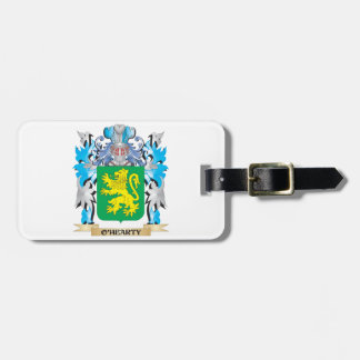 O'Hearty Coat of Arms - Family Crest Bag Tags