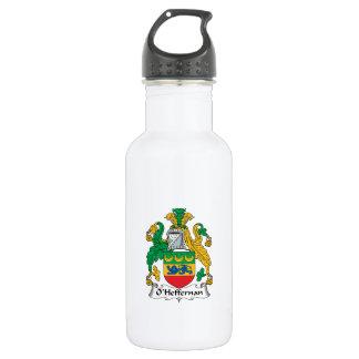 O'Heffernan Family Crest Stainless Steel Water Bottle