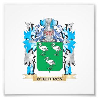 O'Heffron Coat of Arms - Family Crest Photo Print