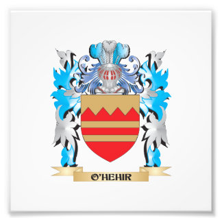 O'Hehir Coat of Arms - Family Crest Photo Art