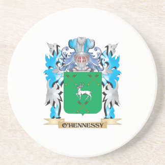 O'Hennessy Coat of Arms - Family Crest Drink Coaster