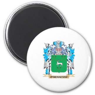 O'Hennessy Coat of Arms - Family Crest Fridge Magnets