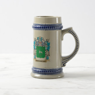 O'Hennessy Coat of Arms - Family Crest Mugs