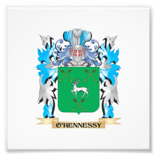 O'Hennessy Coat of Arms - Family Crest Photo Print