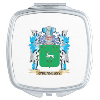 O'Hennessy Coat of Arms - Family Crest Travel Mirror