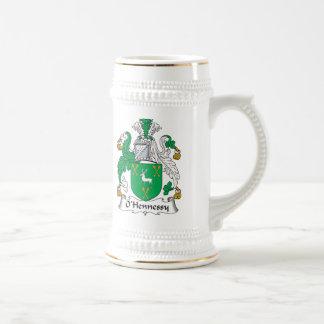 O'Hennessy Family Crest Mugs