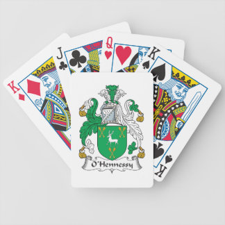 O'Hennessy Family Crest Playing Cards