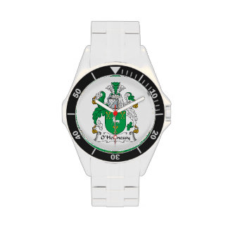 O'Hennessy Family Crest Wristwatch