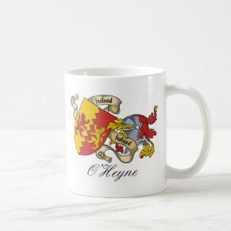 O'Heyne Family Crest Classic White Coffee Mug