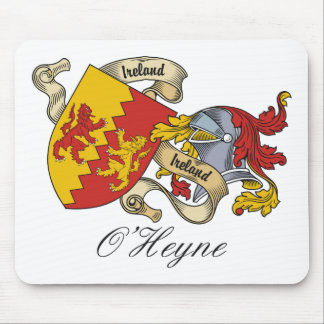 O'Heyne Family Crest Mouse Pad
