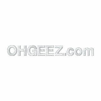 OHGEEZ.com bordó polo