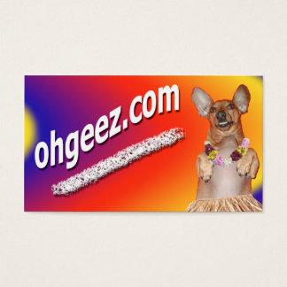 OHGEEZ.com Help spread the word! Business Card