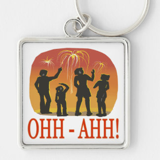Ohh Ahh Keychain