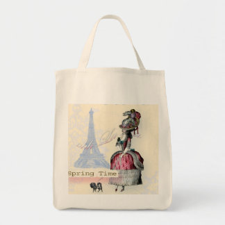Ohh La la spring in Paris copy Tote Bag