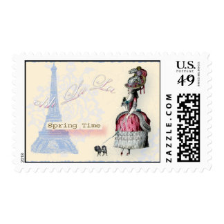 Ohh-La-la-spring-in-Paris Postage