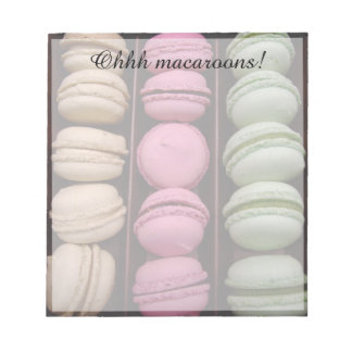 ohh macaroons! notepad