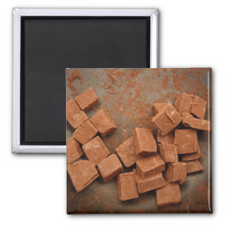 ohhh chocolate! 2 inch square magnet