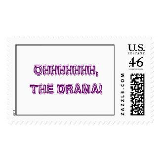 OHHHHHHH, THE DRAMA! stamps
