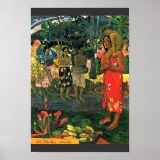 ` Ohi de Reo Mä: Ia Orana Maria (Na Maria de Ia Or Poster