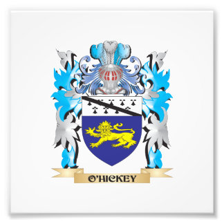 O'Hickey Coat of Arms - Family Crest Photograph