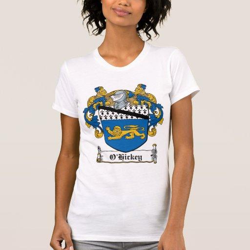 O'Hickey Family Crest Shirts