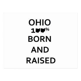 Ohio 100% llevado y aumentado postales