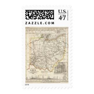 Ohio 12 postage